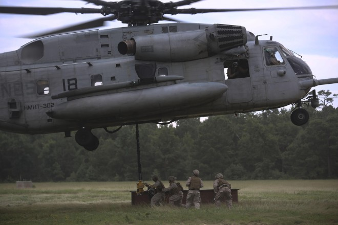 UPDATED: Marine Killed, 9 Injured Following Super Stallion 'Hard Landing' at Camp Lejeune