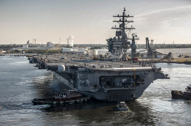 Air Boss: Carrier Truman Will Only Have 40-Day Workup; Ike, Bush Likely Compressed Too