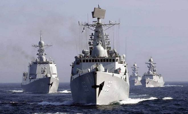 Chinese Warships Made 'Innocent Passage' Through U.S. Territorial Waters off Alaska