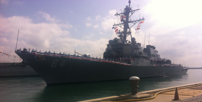 Destroyer USS Carney Arrives in Rota Completing European Ballistic Missile Defense Quartet
