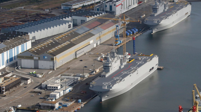 France to Sell Mistral Amphibs to Egypt