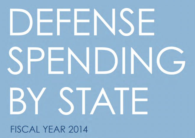 Document: U.S. Defense Spending by State