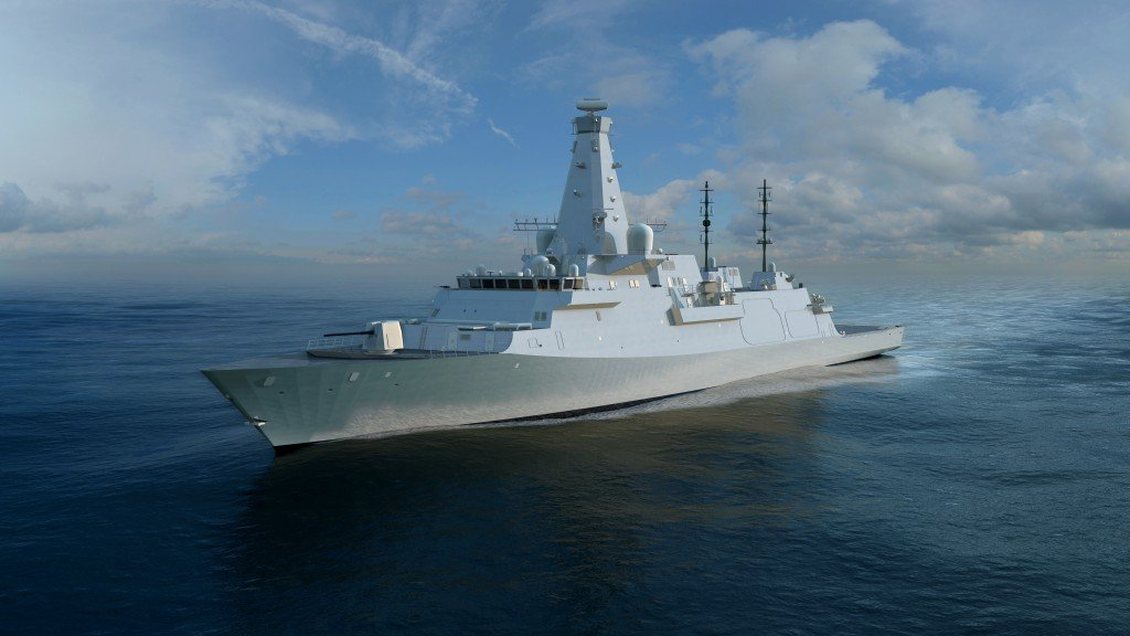 An artist's conception of BAE System's Type 26 Global Combat Ship. BAE Image