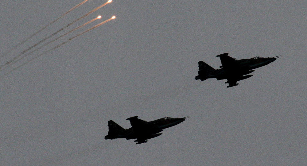 Russian fighters over Syria. Sputnik Photo