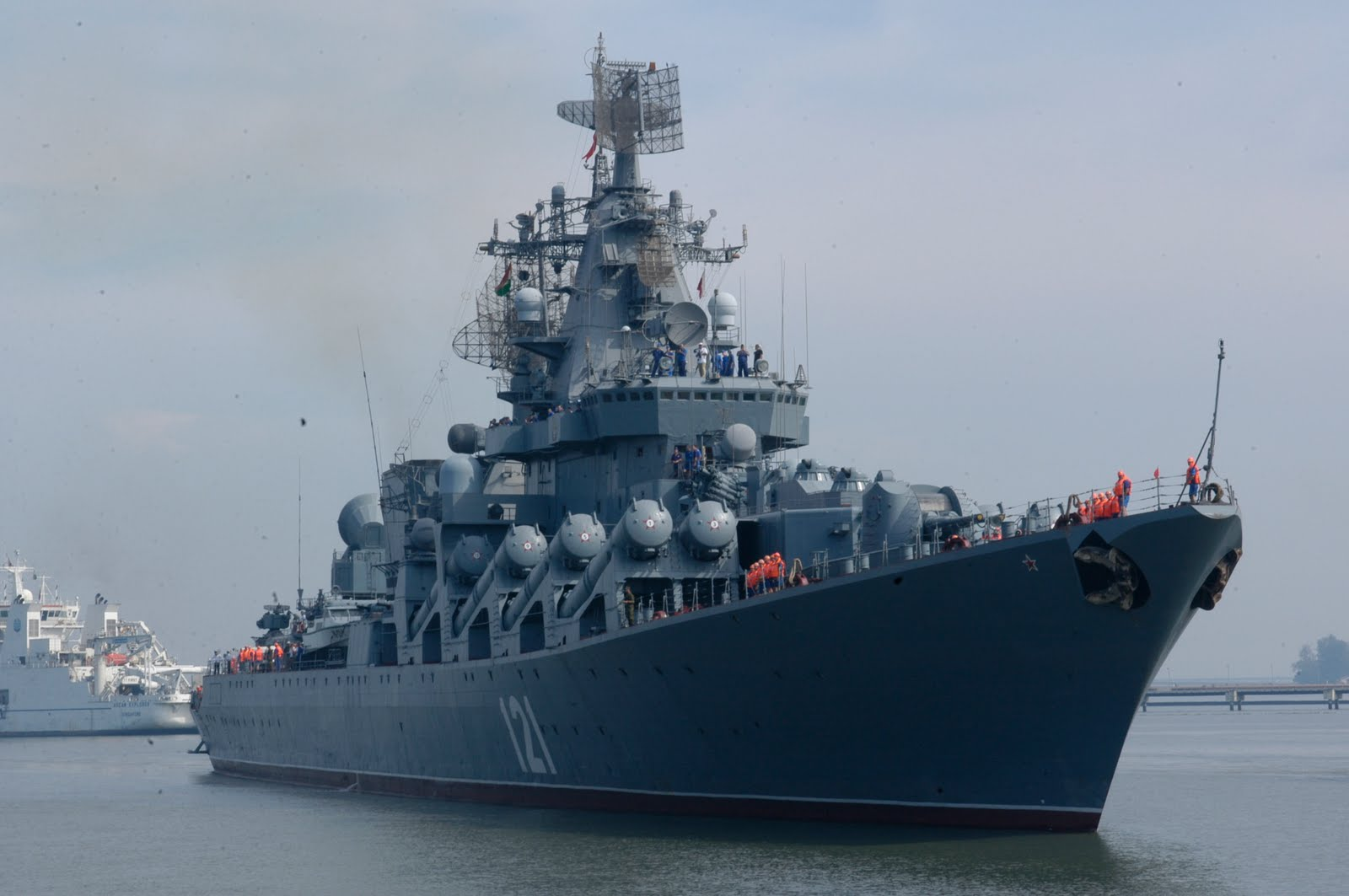 Russian Warships in Eastern Mediterranean to Protect ...