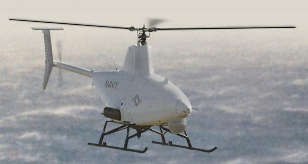 Northrop Grumman MQ-8 Fire Scout unmanned helo (U.S.)