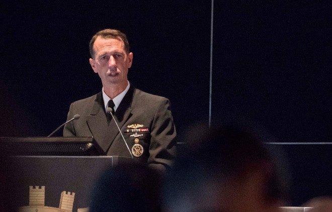 U.S., Chinese Navy Leaders Discuss U.S. Freedom of Navigation, South China Sea Operations