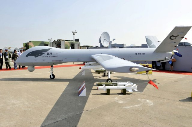 "Chengdu Wing Loong ""Pterodactyl"" UAV"