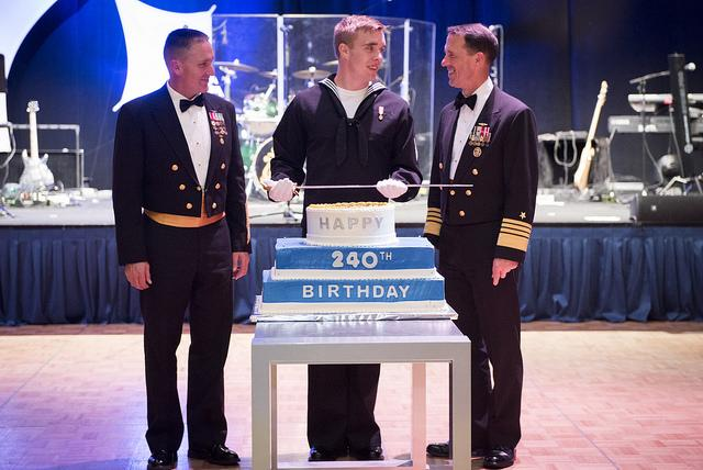 A Selection of Official Messages Celebrating the U.S. Navy's 240th Birthday