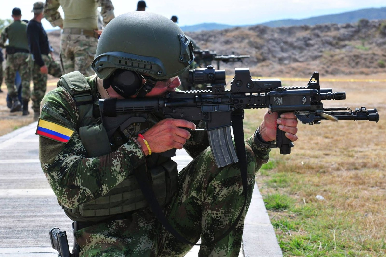 Colombian commando in 2014.