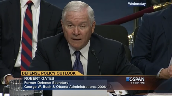 Former SECDEF Robert Gates: U.S. Faces a Generation of Middle East Conflict