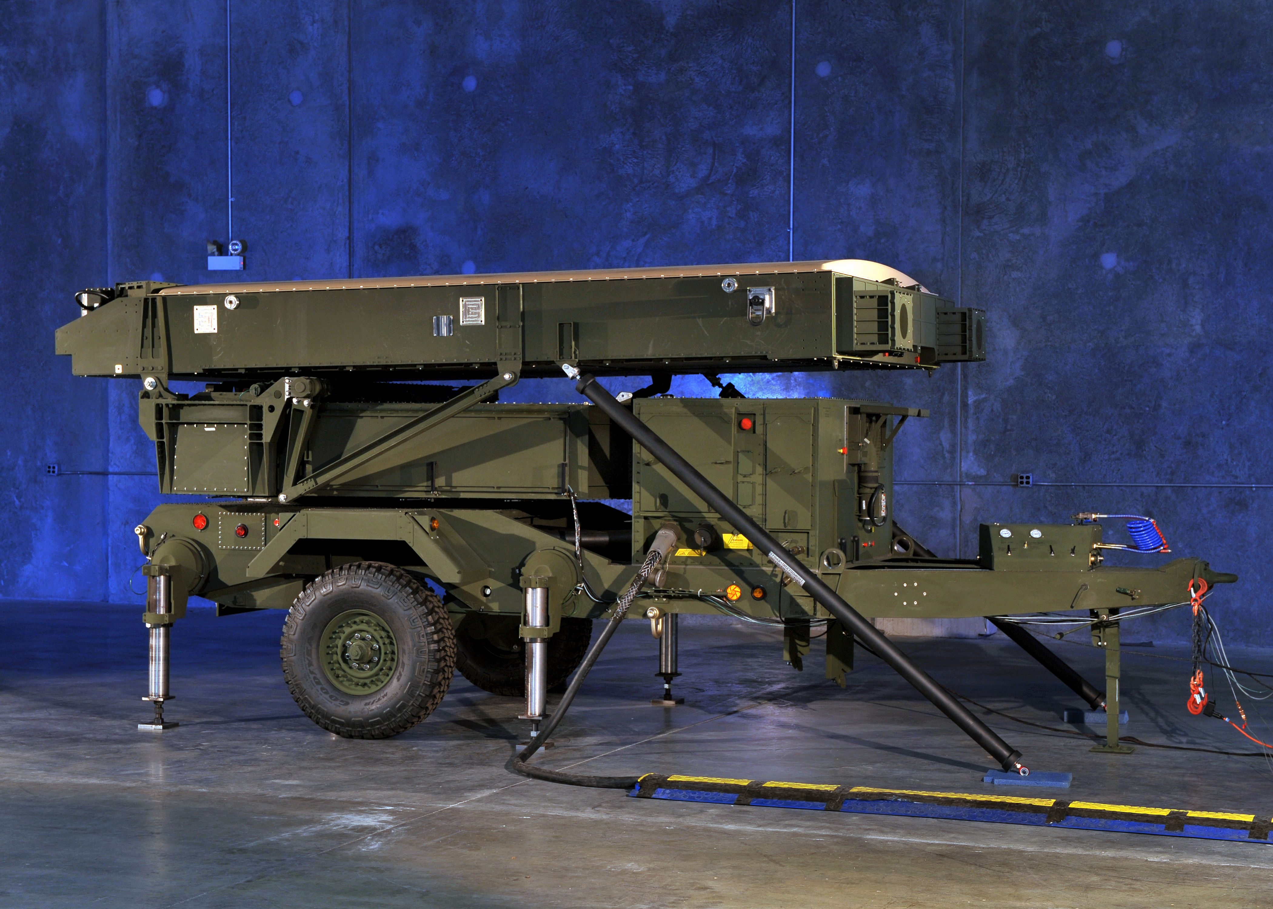 AN/TPS-80 Ground/Air Task Oriented Radar (G/ATOR). Northrop Grumman photo.