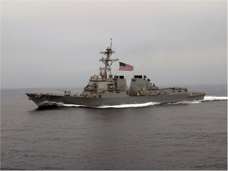 USS Lassen (DDG-82). US Navy Photo