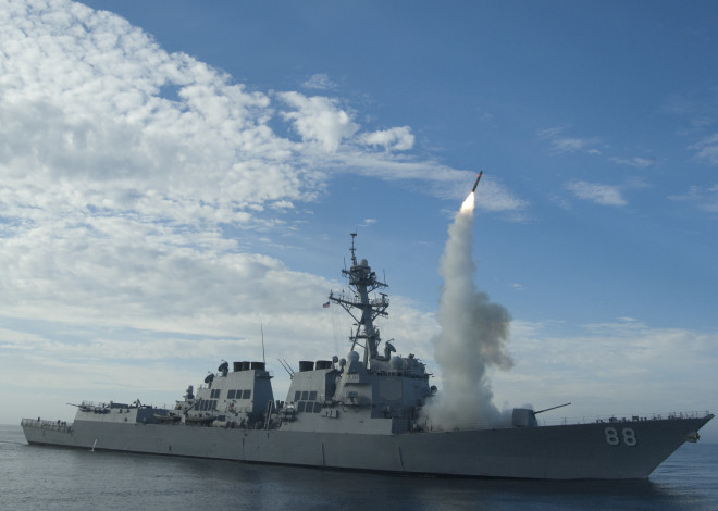 A Year Into Distributed Lethality, Navy Nears Fielding Improved Weapons, Deploying Surface Action Group