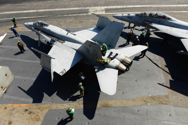 F/A-18 Depots See 40-Percent Increase In Productivity After Adapting New Work Model