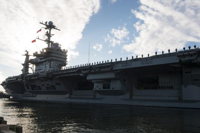 Video: USS Harry S. Truman Departs Norfolk