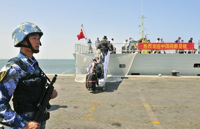 U.S. AFRICOM Commander Confirms Chinese Logistics Base in Djibouti