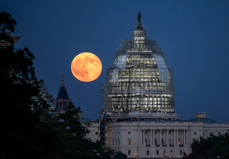 U.S. Capitol on July 31, 2015, NASA Photo