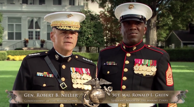 Video: U.S. Marine Corps 2015 Birthday Message