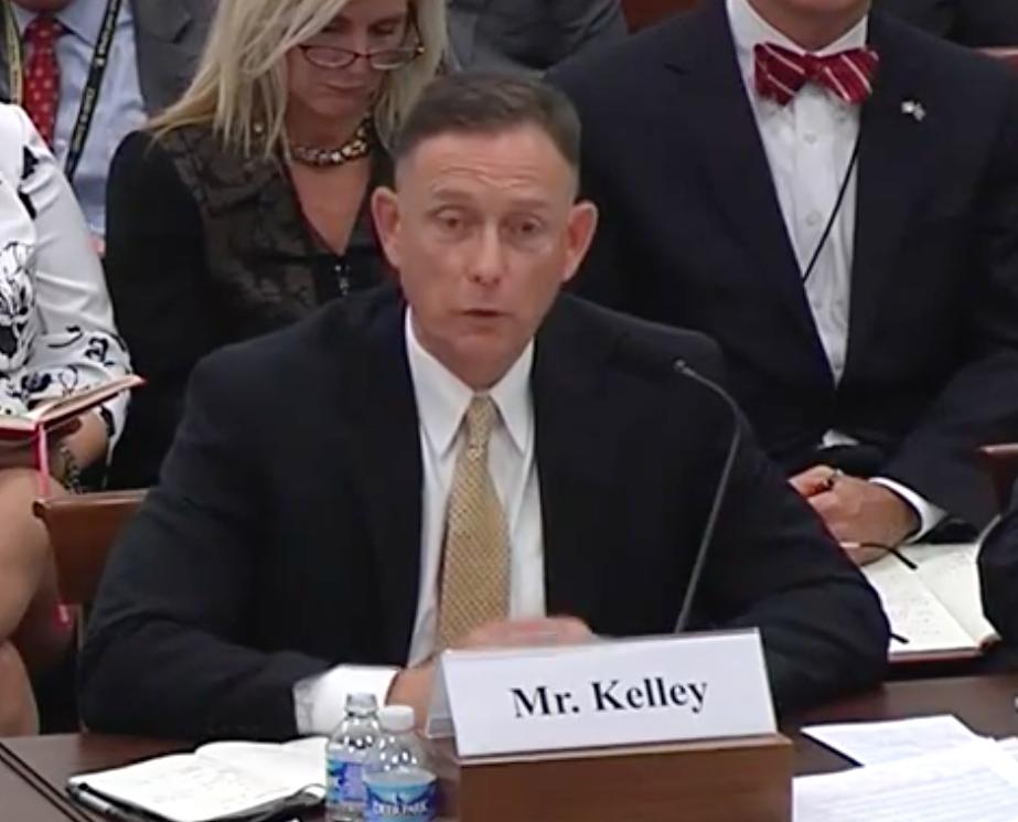 Retired Brig. Gen. Frank Kelley during the Nov. 19, 2015 hearing.