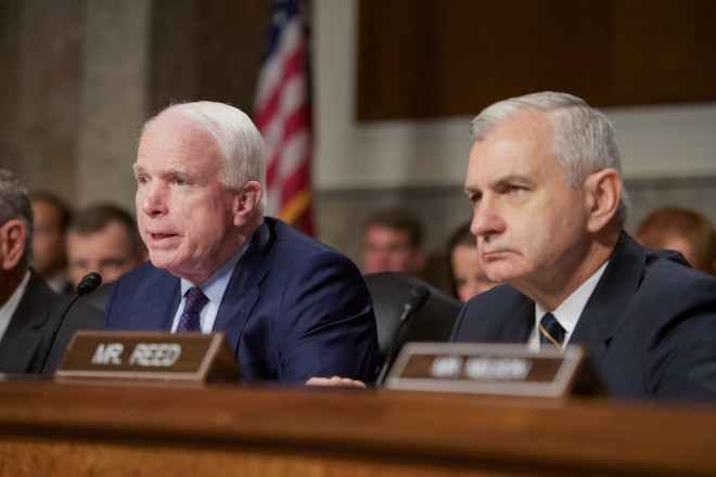 McCain to Navy Civilian Leadership Nominees:  'We Want an Audit'