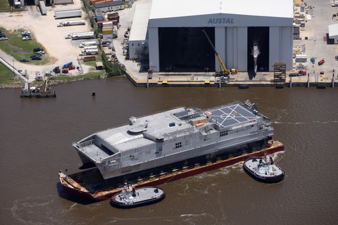 Navy's Expeditionary Fast Transport Brunswick Completes Acceptance Trials
