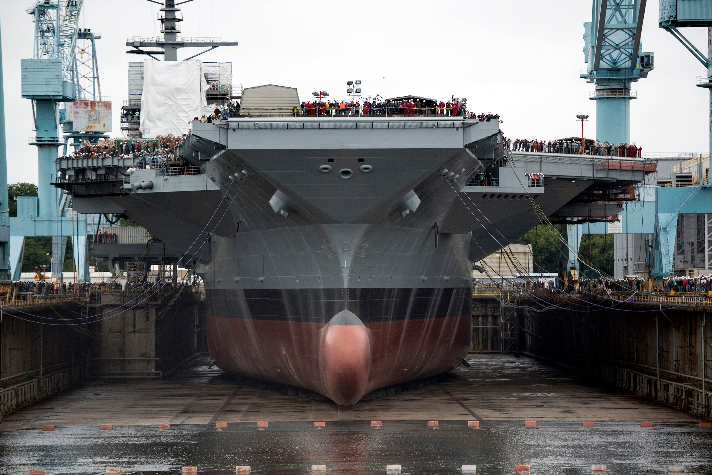 Navy to Update 2 Dry Docks to Accommodate Ford-Class Carriers - USNI News