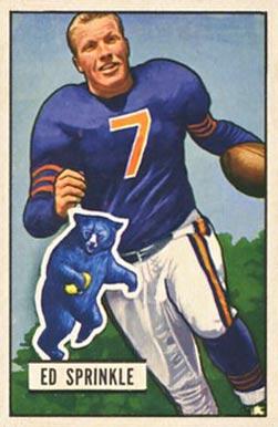 Ed Sprinkle - Bowman card