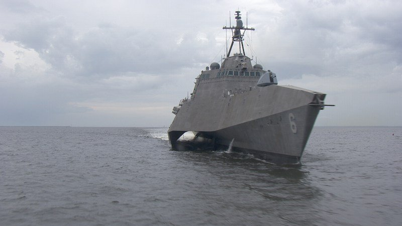 Littoral Combat Ship USS Jackson (LCS-6). Austal USA Photo