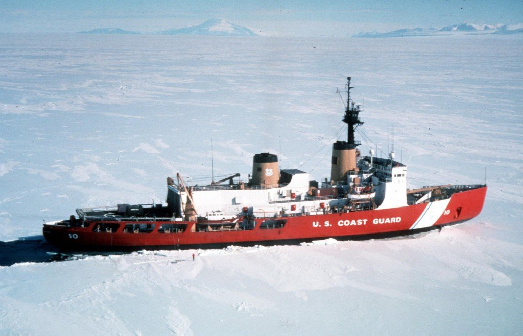 U.S. Coast Guard Cutter Polar Star.