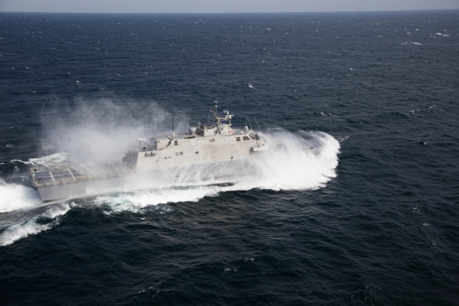 Littoral Combat Ship USS Milwaukee Repairs Estimated to Extend Into February