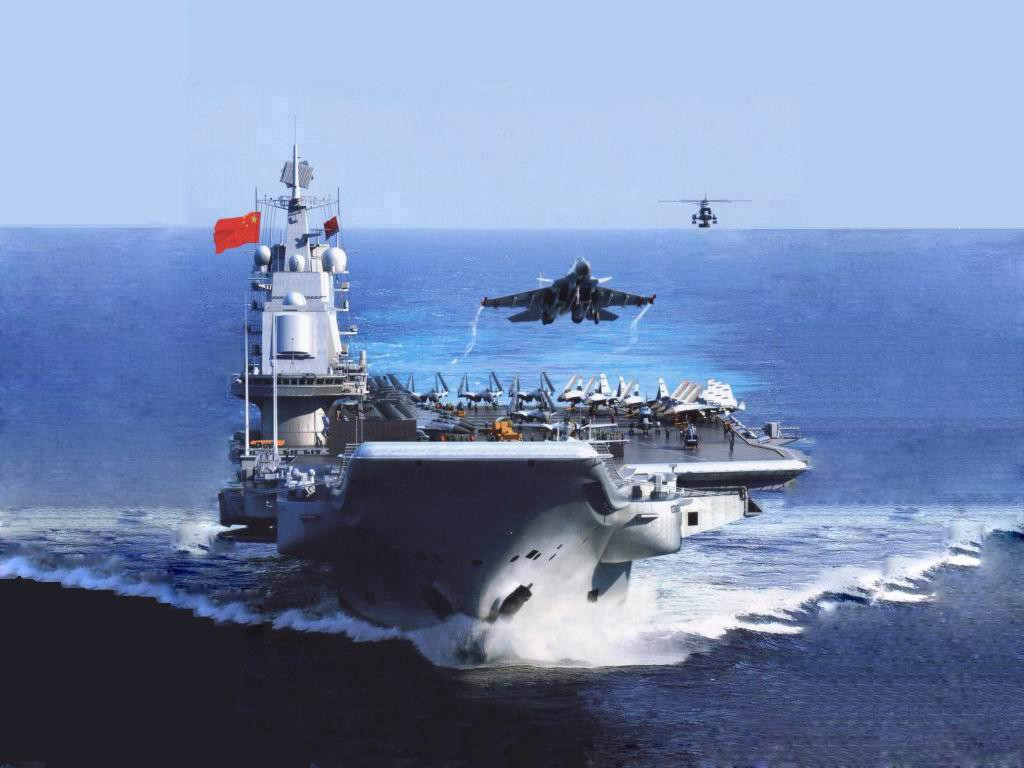 Undated photo of Chinese aircraft carrier Liaoning. PLA Photo