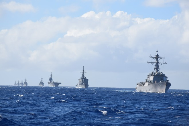 U.S., Japanese Navies Kick Off Bilateral Exercise In Guam
