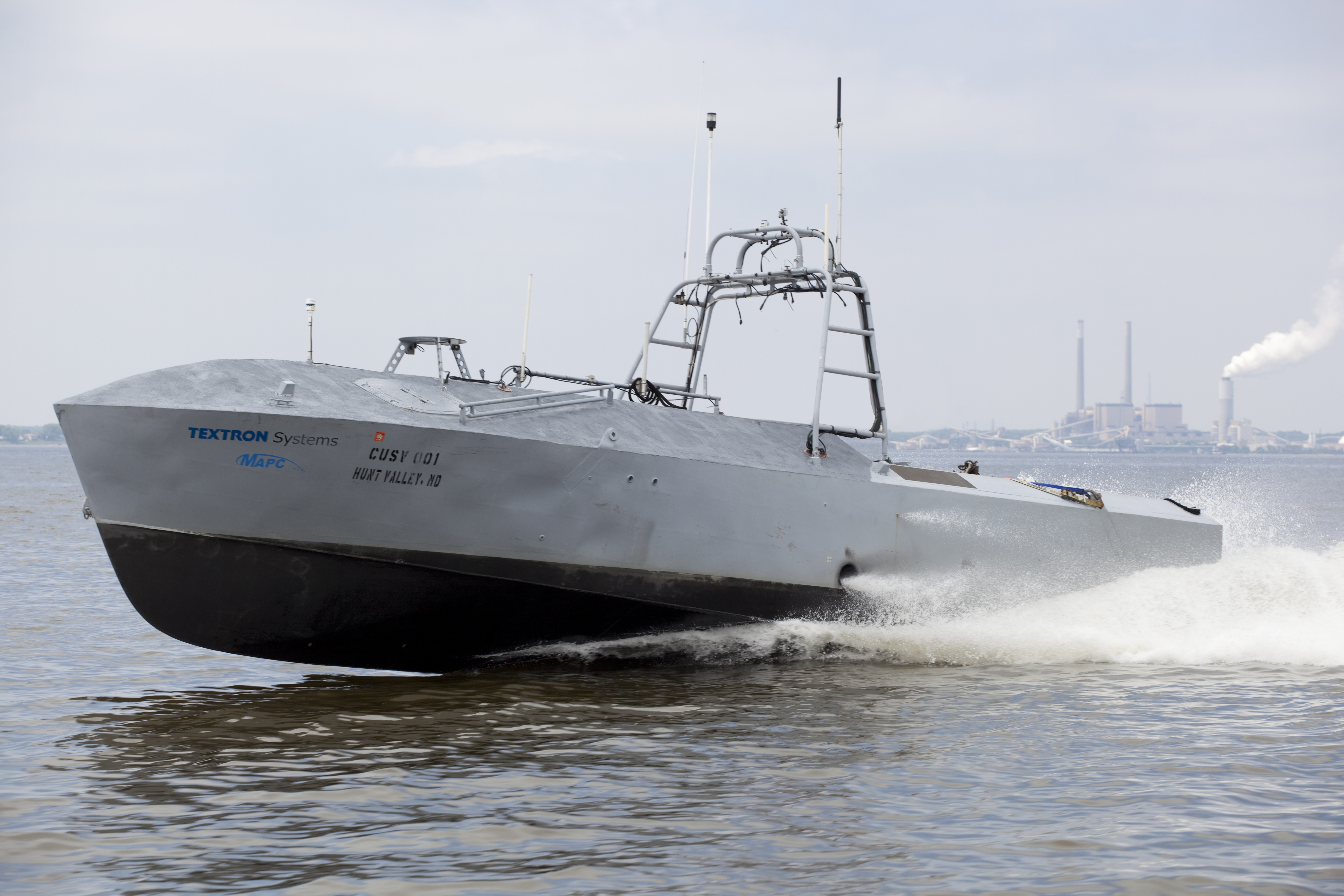 Common Unmanned Surface Vehicle. Textron photo.