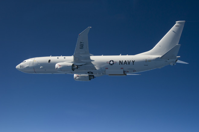 Updated: Russian Fighter Came Within 10 Ft. of Navy Surveillance Plane Over Black Sea