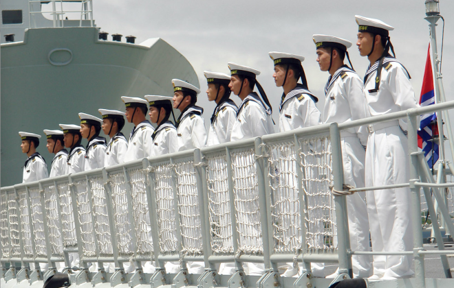 China on 'High Alert' to Prevent Japan from Entering South China Sea Disputes