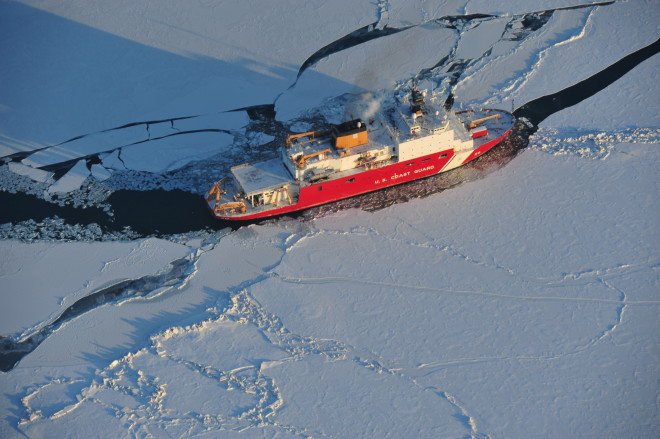 Zukunft: Changing Arctic Could Lead to Armed U.S. Icebreakers in Future Fleet