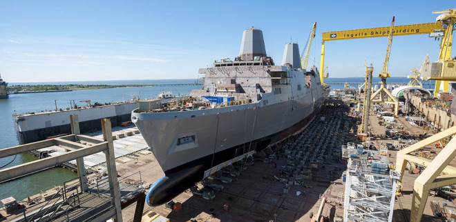 Request for Proposal for Final LPD-17 Amphib Released To Industry