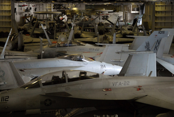 FY 2017 Budget: Navy Asks Congressional Permisson to Shutter Carrier Air Wing
