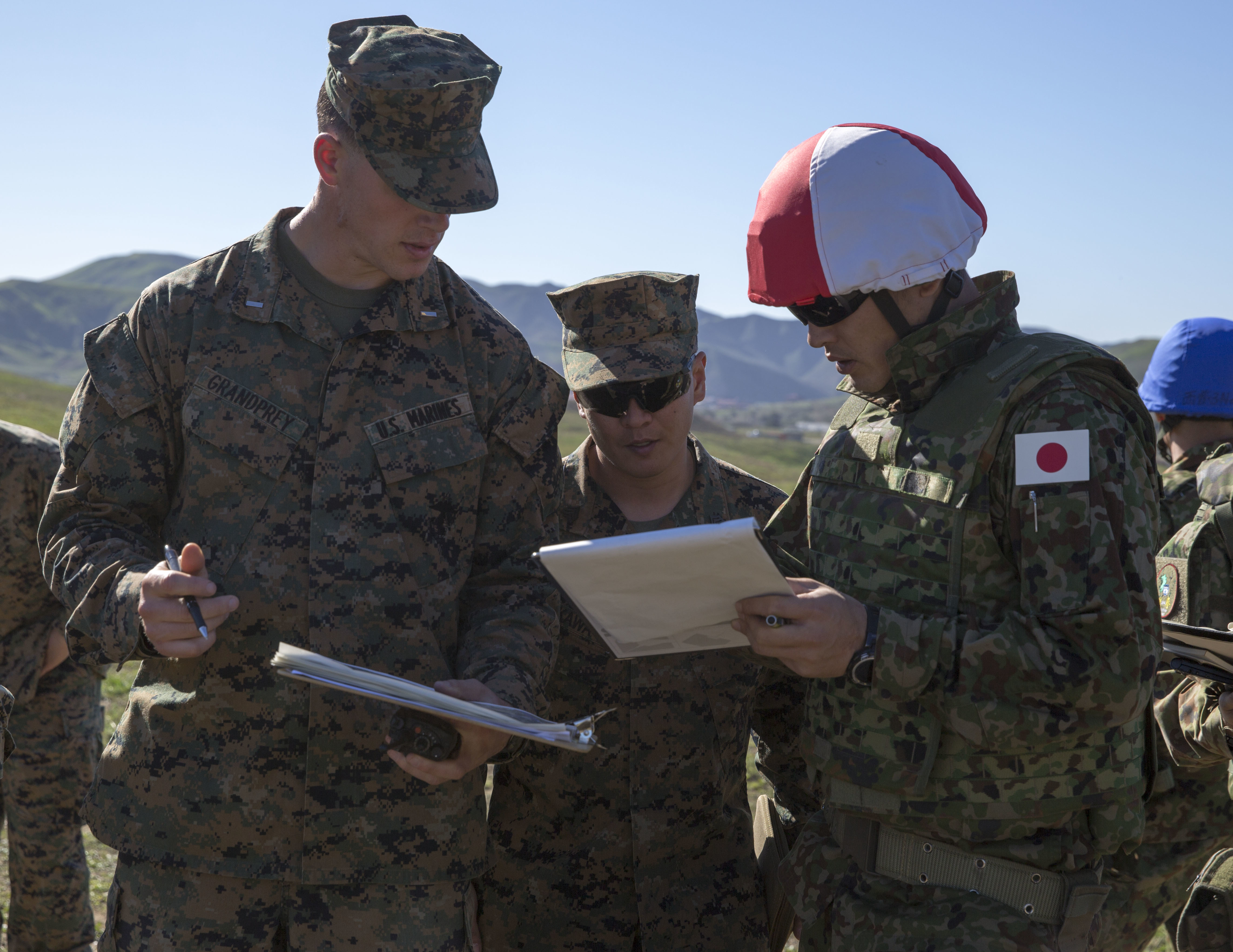 Iron Fist 2016: U.S. Marines Train Japanese Soldiers in the Finer ...