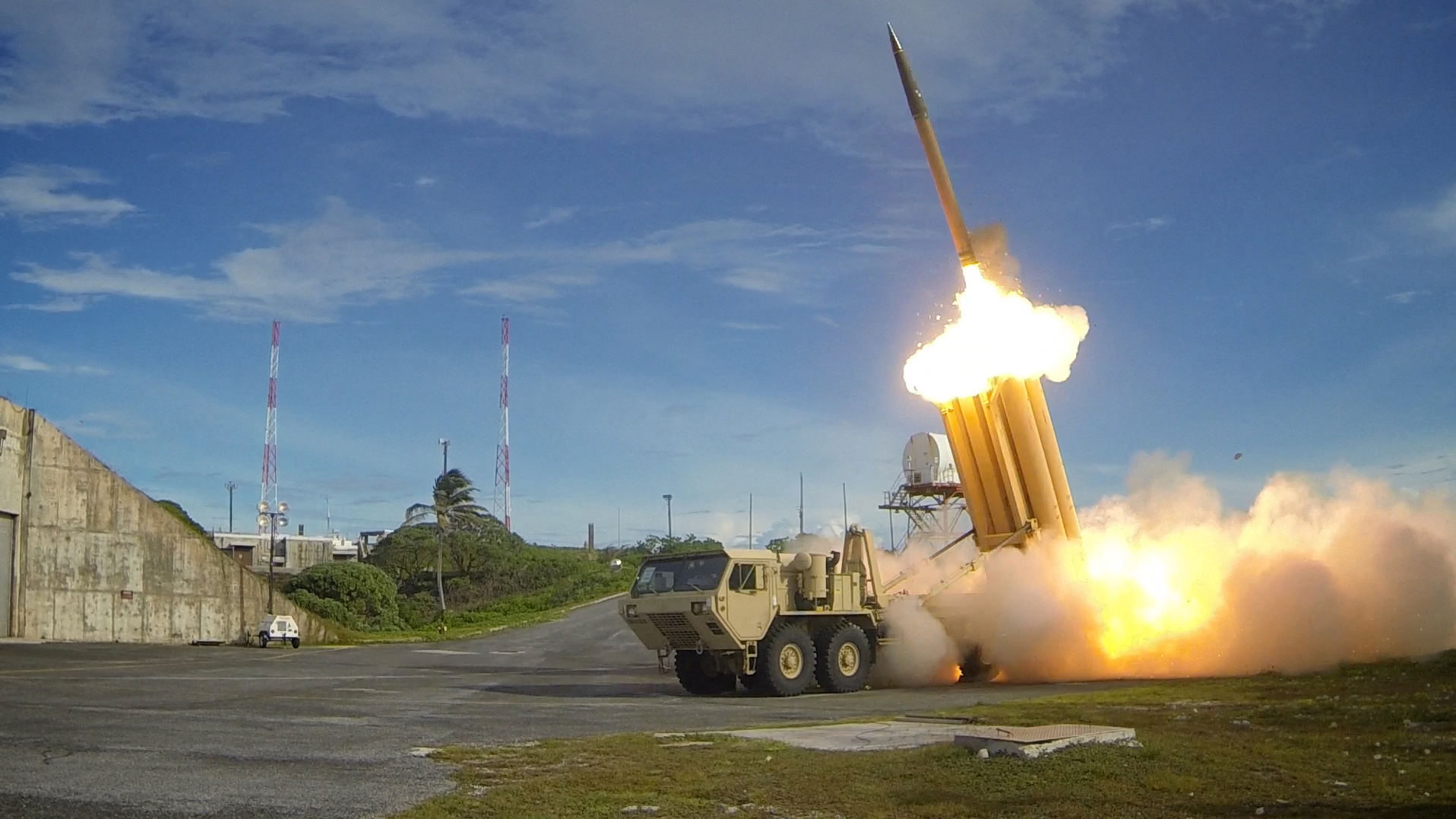 THAAD Missile Battery. Missile Defense Agency Photo