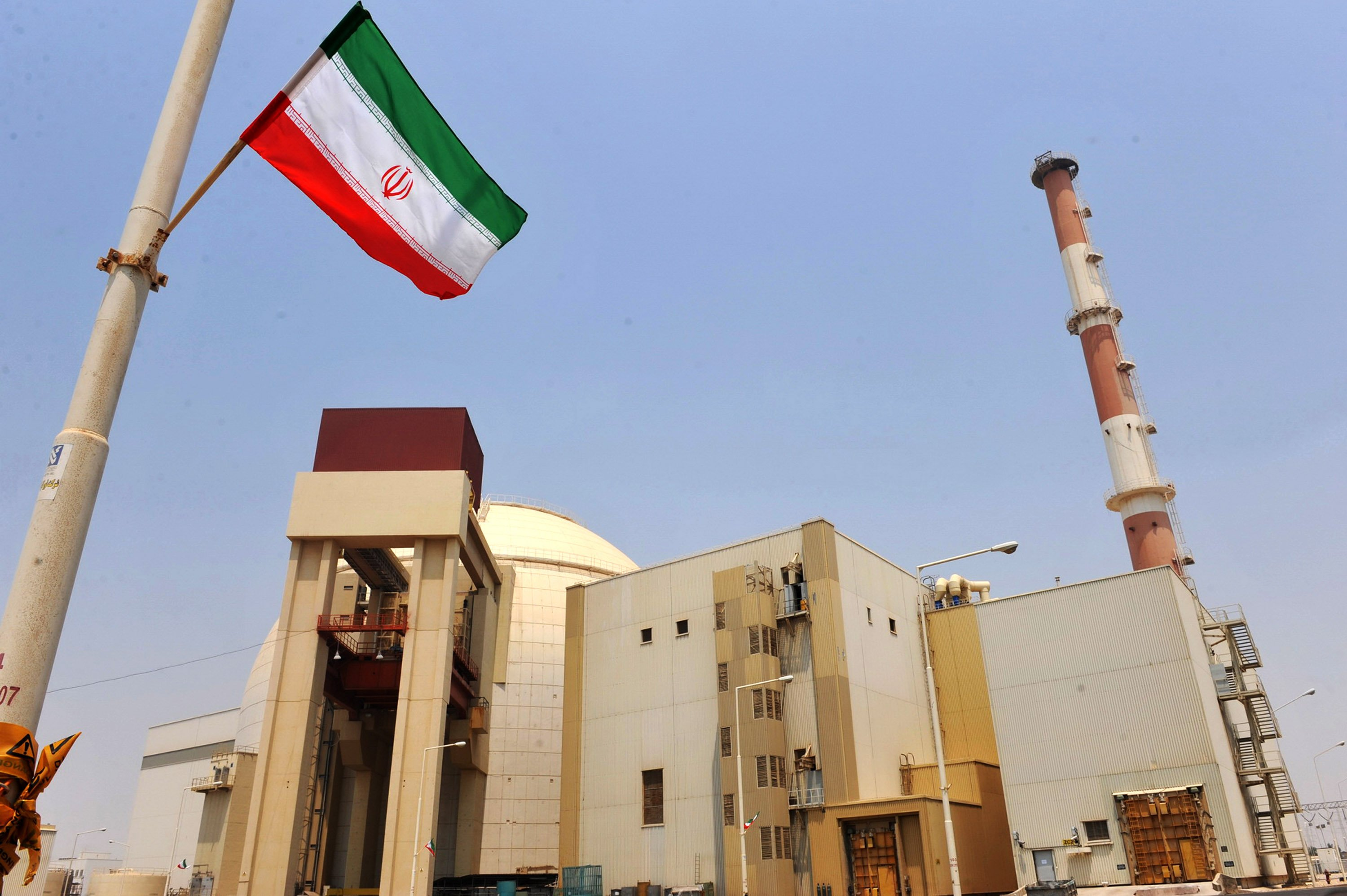 A Russian-built nuclear power plant in Bushehr, southern Iran.