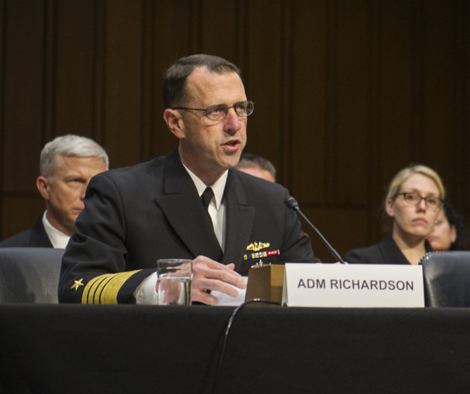 Navy, Marines Continue to Warn of the Perils of A Continuing Resolution