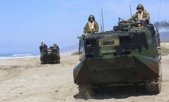 Iron Fist 2016: With U.S. Marines by Their Side, Japanese Soldiers Hit the Beach
