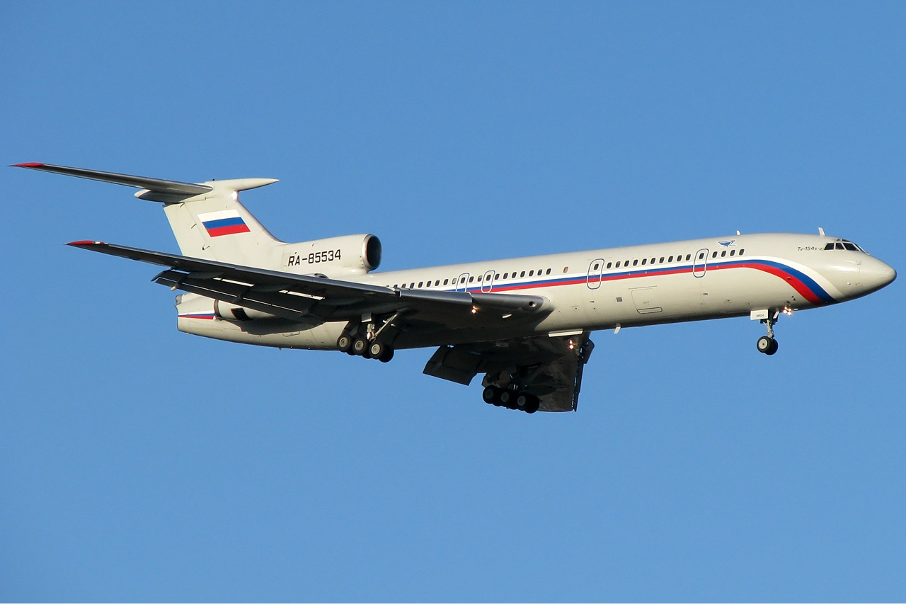 A Russian Air Force Tupolev Tu-154 surveillance aircraft in 2008.