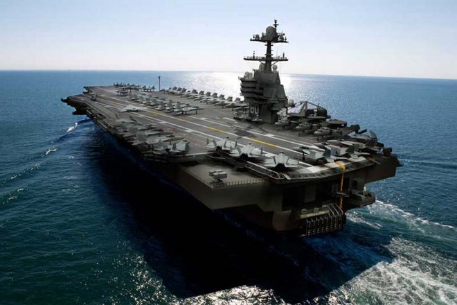 Navy Could Award 2-Carrier Contract by End of January, With Expected $4B in Savings