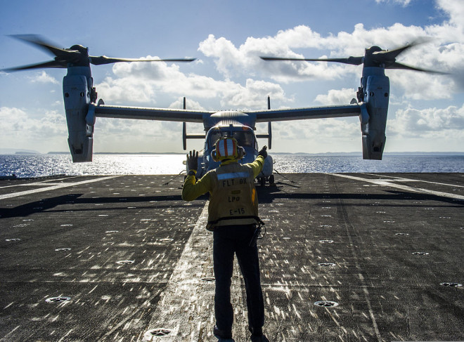 NAVAIR Awards Bell-Boeing $151 Million To Begin Navy-Variant V-22 Design