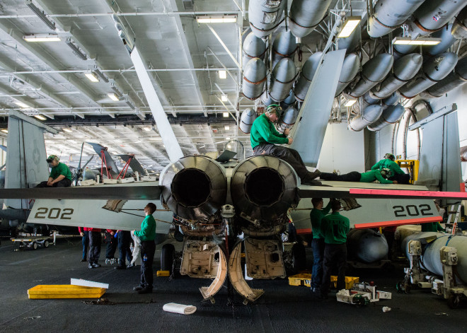 Boeing to Begin Buying Super Hornet SLEP Materials This Summer Ahead Of Expected 2018 Induction of First Jet