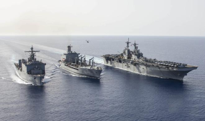 Navy Prepping USS Kearsarge, USS Oak Hill for Post Hurricane Harvey Humanitarian Mission
