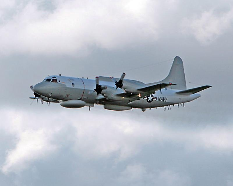 An EP-3E Aries II signals intelligence aircraft in 2006. Lin's job int he Navy was to coordinate the information gathered by the crew. US Navy Photo